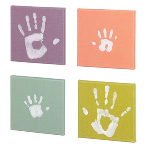 Tableau Empreinte bébé Pop Art Print Paintings de Baby Art