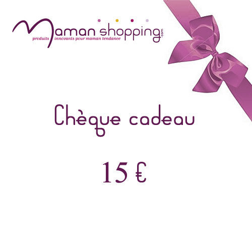 cheque cadeau naissance bebe maman shopping. Black Bedroom Furniture Sets. Home Design Ideas