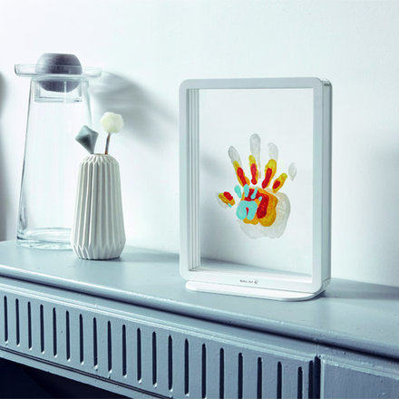 Cadre transparent 4 Empreintes Family Touch de Baby Art