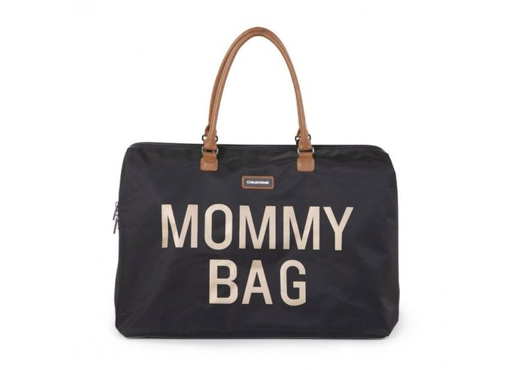 Sac à langer Mommy Bag Large Black & Gold