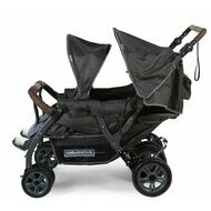 Poussette quadruple two by two Childhome anthracite