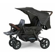 Poussette triple Childhome anthracite