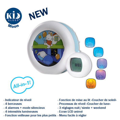 reveil MOON de kid sleep