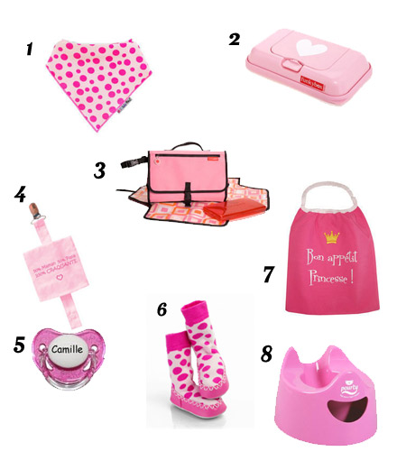 selection enfant rose